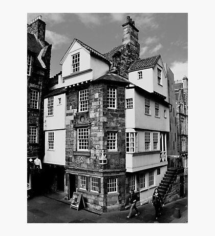 John Knox House, Edinburgh.  Photographic Print