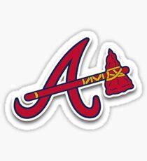 Atlanta Braves Tomahawk Logo Sticker