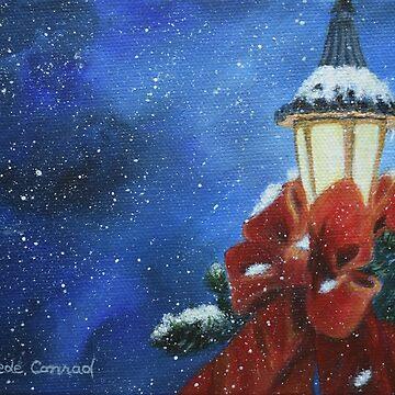 Lamplight Glow by ArtbyDedeConrad