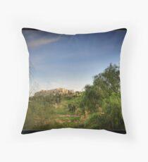 Acropolis of Athens Greece Throw Pillow