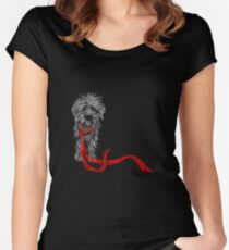 Le Mutt, C'est Chic Women's Fitted Scoop T-Shirt