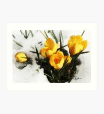 Promise of Spring Art Print