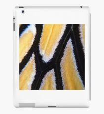 macro monarch wing iPad Case/Skin