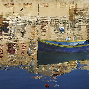 Blue Dinghy Malta by baji