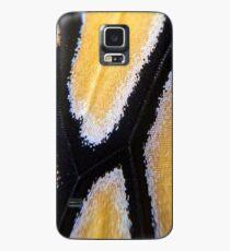 macro monarch wing Case/Skin for Samsung Galaxy
