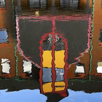Reflection Birmingham Canal by baji