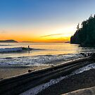 SUNSET SURFER by Sandy Hill