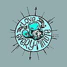 Skribbles: Love every minute (blue) by Em Varosky