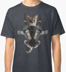 Cat Parent Baby Carrier  Classic T-Shirt