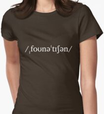 Phonetician Womens Fitted T-Shirt