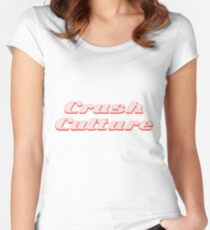 conan gray crush culture Fitted Scoop T-Shirt