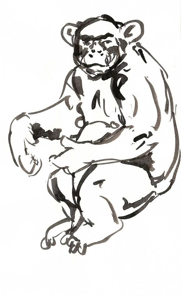 Chimp by Ryan Humphrey