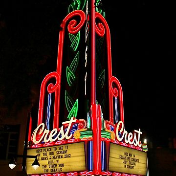 The Old Crest Theater by lenzart
