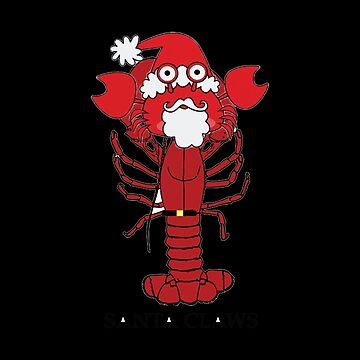 Lobster Santa by Katnovations