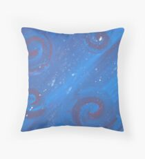 Playful swirls Throw Pillow