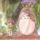 In the Rain by batyalewbel