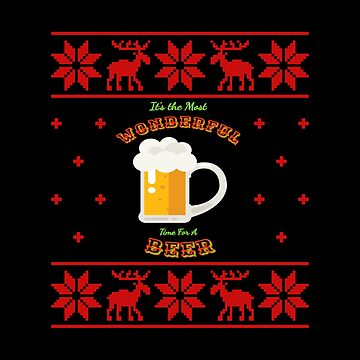 Wonderful Beer Sweater by Katnovations