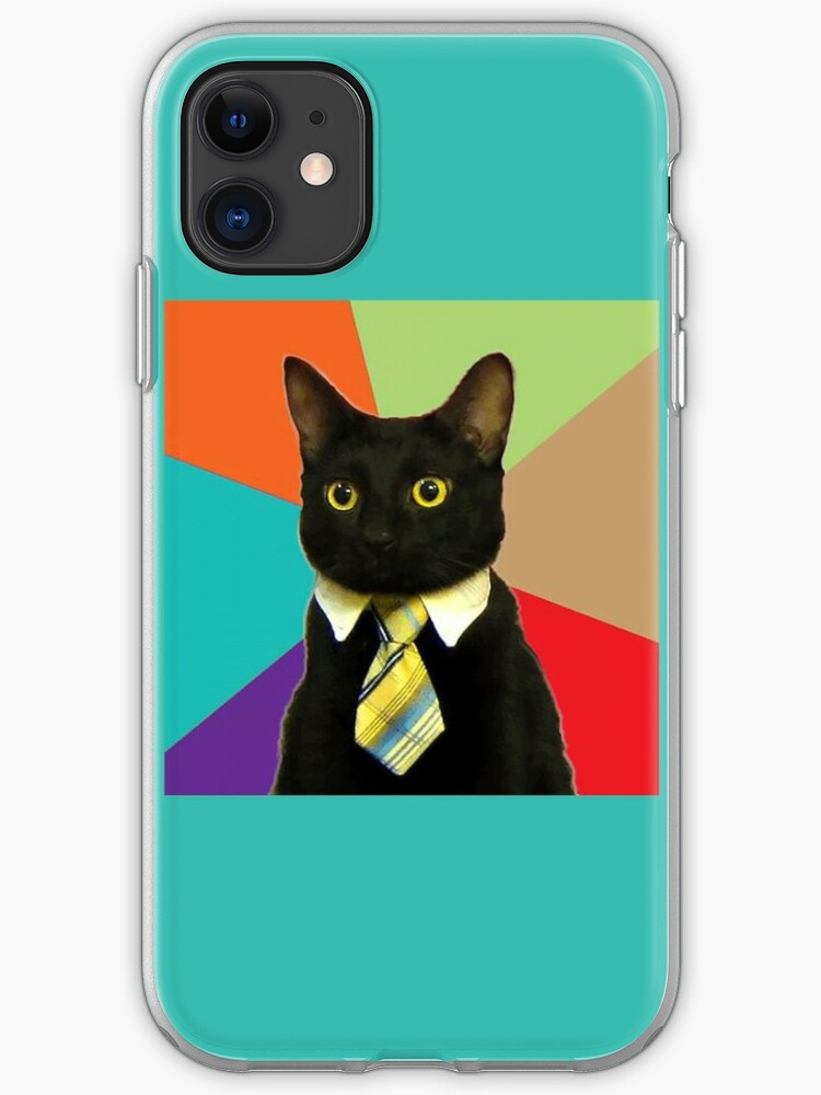 Business Cat iphone case