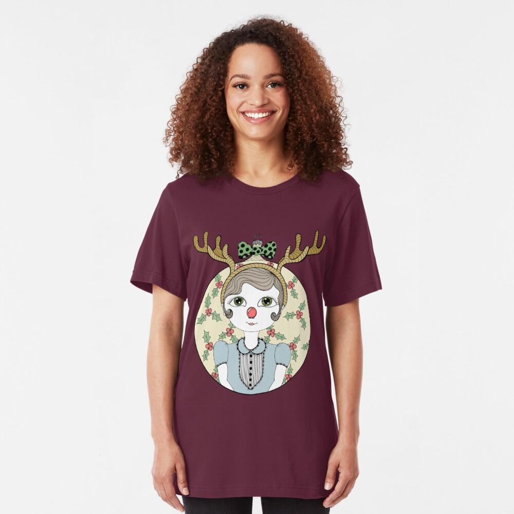 Waiting for Santa Slim Fit T-Shirt