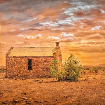 Lonely Ruin by DVJPhotography