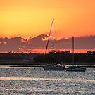 Sunset Moorings by Bob Hardy