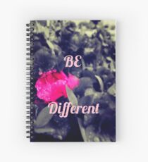 Cuaderno de espiral Be Different/Stand Out