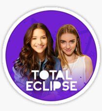 Brat Total Eclipse - Mackenzie Ziegler Lauren Orlando Sticker