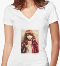 Eden The Gypsy Women's Fitted V-Neck T-Shirt