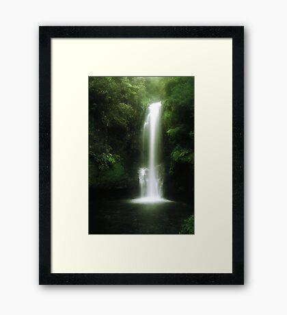 Kaiate falls Framed Print