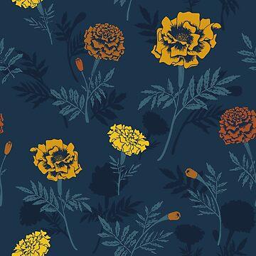 Marigold pattern by studionaika