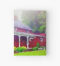 The Red Farmhouse Hardcover Journal