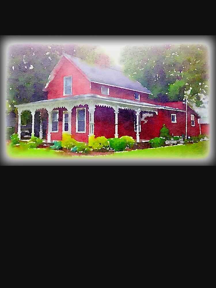The Red Farmhouse, Norwalk, Ohio by douglasewelch