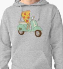 Sudadera con capucha delivery de pizza