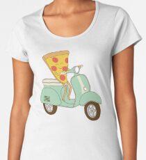 pizza delivery Women's Premium T-Shirt