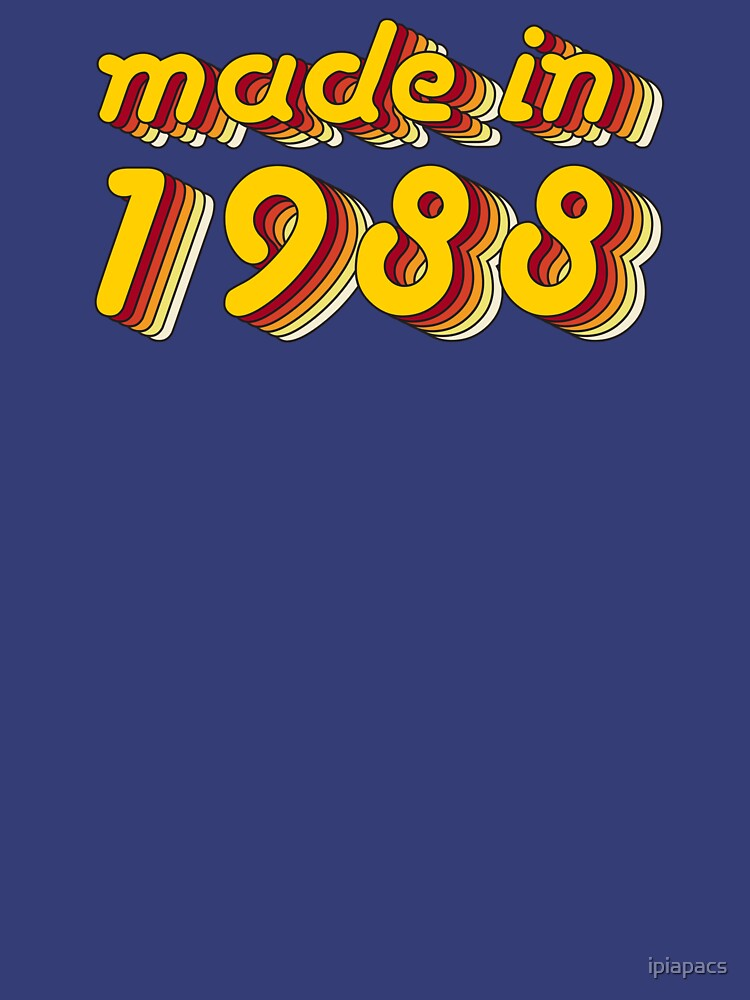Made in 1988 (Yellow&Red) by ipiapacs
