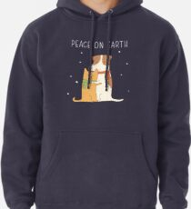 peace on earth Pullover Hoodie