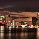 Detroit skyline by anatol734