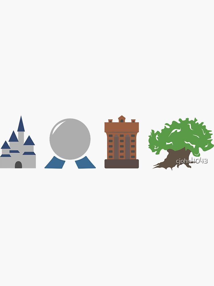 Die vier Parks der Magie von cjohn4043