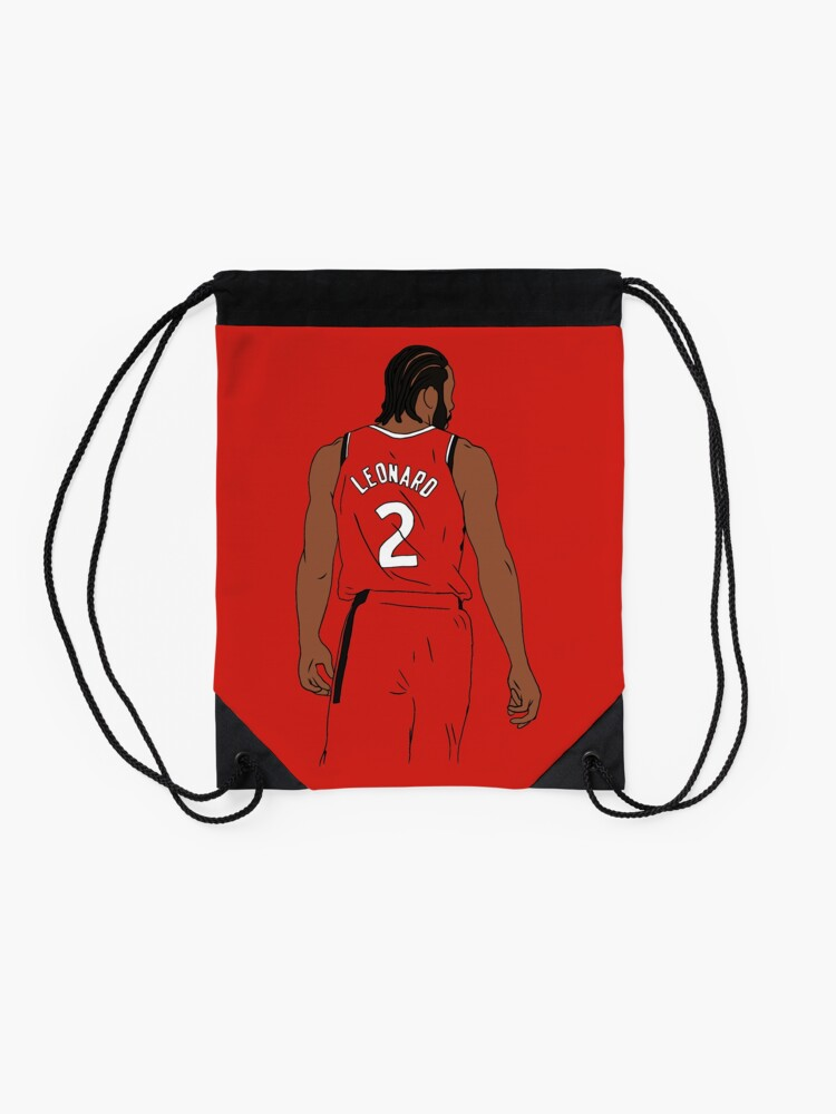 Alternate view of Kawhi Leonard Raptors Drawstring Bag