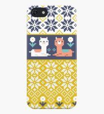 Alpaca Christmas Sweater Pattern  iPhone SE/5s/5 Case