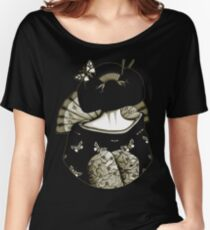 Geisha Girl antique Women's Relaxed Fit T-Shirt