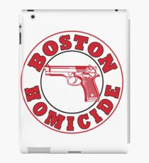 Rizzles Boston Homicide Logo iPad Case/Skin