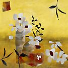 White Floral II by Ruth Palmer