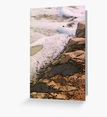 The Sand and the Sea Greeting Card
