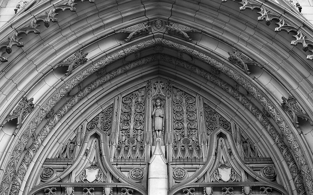 Tympanum by Ernest Strawser