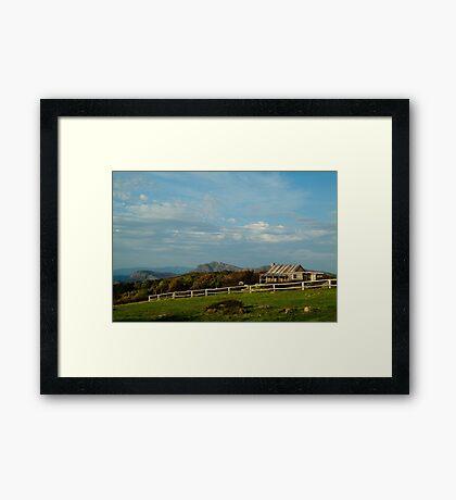 Craigs Hut, Mt Stirling Framed Print