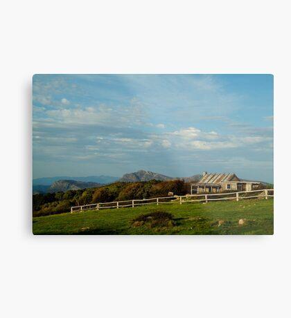 Craigs Hut, Mt Stirling Metal Print