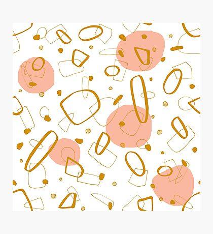Doodle Pattern 04 #redbubble #doodle #pattern Photographic Print