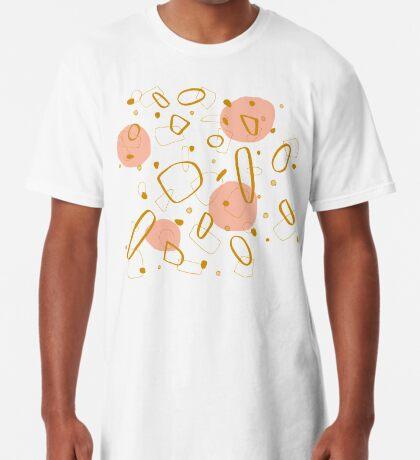 Doodle Pattern 04 #redbubble #doodle #pattern Long T-Shirt
