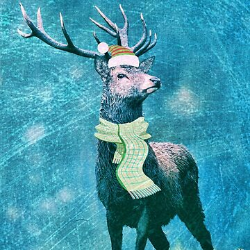 Cheerful Stag Of The Season by SweetDominique